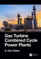 Gas Turbine Combined Cycle Power Plants PDF