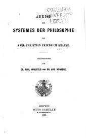 Abriss des Systemes der Philosophie