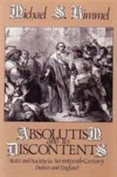 Absolutism And Its Discontents Book PDF