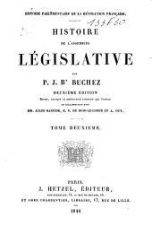 Histoire de l'assemblée législative: Volume2