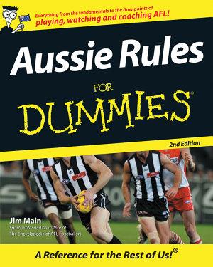 Aussie Rules For Dummies PDF