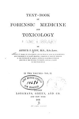 Text-book of forensic medicine, and toxicology v. 2