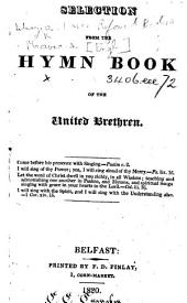Selection from the Hymn Book of the United Brethren