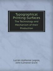 Typographical Printing-Surfaces