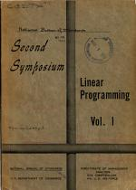 Proceedings of the Second Symposium in Linear Programming