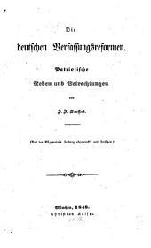 Die deutschen Verfassungsreformen