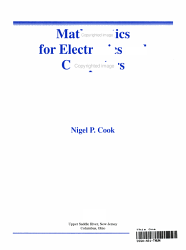 Mathematics for Electronics and Computers PDF