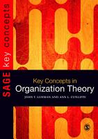 Key Concepts in Organization Theory PDF
