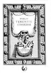 Publii Terentii Comoediae