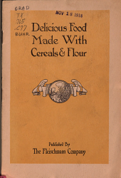 Delicious Food Made with Cereals   Flour PDF