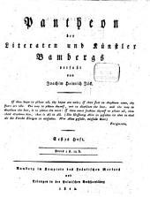 Pantheon der Literaten und Künstler Bambergs: Band 1