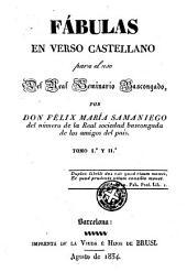 Fabulas en verso castellano: para el uso del Real Seminario Bascongado, Volúmenes 1-2