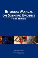 Reference Manual on Scientific Evidence PDF
