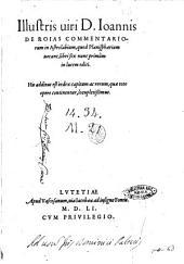 Illustris uiri D. Ioannis de Roias Commentariorum in astrolabium, quod planisphaerium uocant, libri sex nunc primùm in lucem editi