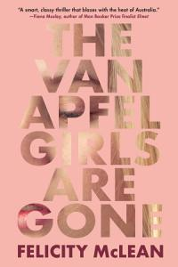 The Van Apfel Girls Are Gone Book