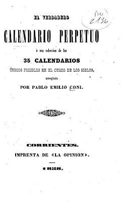 El verdadero calendario perpetuo PDF