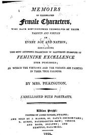 Memoirs of celebrated Female Characters, etc