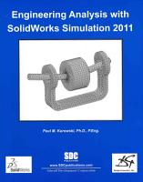 Engineering Analysis with SolidWorks Simulation 2011 PDF