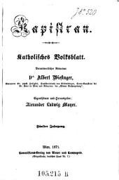 Kapistran: katholisches Volksblatt, Band 5