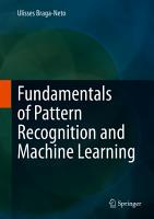 Fundamentals of Pattern Recognition and Machine Learning PDF