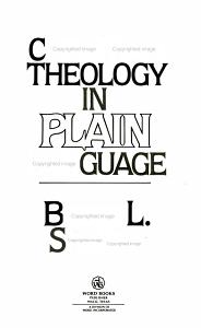 Christian Theology in Plain Language Book