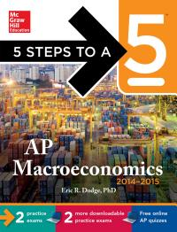 5 Steps to a 5 AP Macroeconomics with CD ROM  2014 2015 Edition