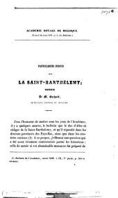 Particularités inédites sur la Saint-Barthélemy