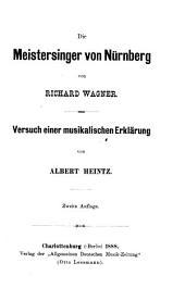 Die Meistersinger von Nürnberg von Richard Wagner: Versuch einer musikalischen Erklärung