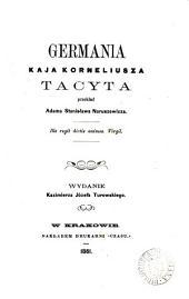 Germania, przekład A.S. Naruszewicza