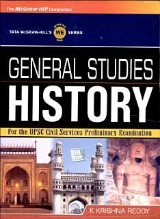 General Studies History 4 Upsc Book