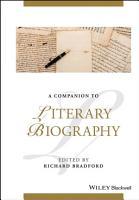 A Companion to Literary Biography PDF