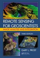 Remote Sensing for Geoscientists PDF