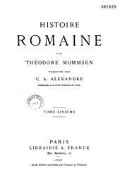 Histoire romaine: Volume1