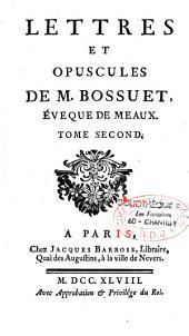 Lettres et opuscules de...