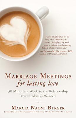 Marriage Meetings for Lasting Love