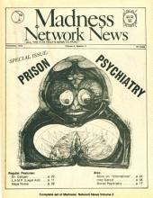 Madness Network News Volume 2: A Journal of the Psychiatric Survivor Movement