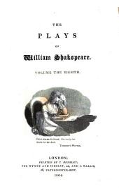 The Plays of William Shakespeare: Volume 8