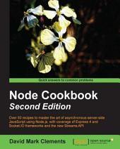 Node Cookbook: Second Edition
