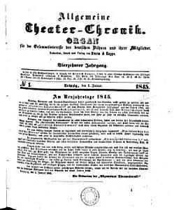 Allgemeine Theater Chronik PDF