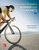 Applied Statistics in Business and Economics PDF