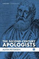 The Second Century Apologists PDF
