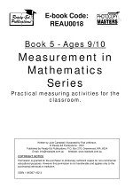 The Measurement in Mathematics Series: (ages 9-10)