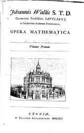 Opera Mathematica: Volume 1