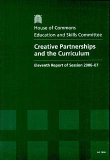 Creative partnerships and the curriculum