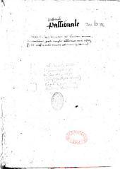 Historiae plurimorum sanctorum