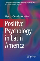 Positive Psychology in Latin America