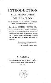Introduction à la philosophie de Platon