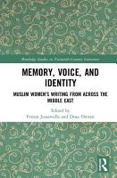 Memory  Voice  and Identity PDF