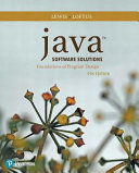 Java Software Solutions PDF