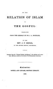 On the Relation of Islam to the Gospel